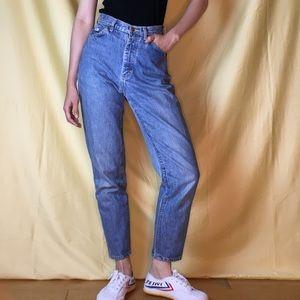 Vintage Classic Lee High Waist Blue Jeans
